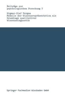 Modelle Der Wissensrepr sentation ALS Grundlage Qualitativer Wissensdiagnostik