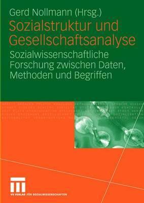Sozialstruktur Und Gesellschaftsanalyse: Sozialwissenschaftliche Forschung Zwischen Daten, Methoden Und Begriffen