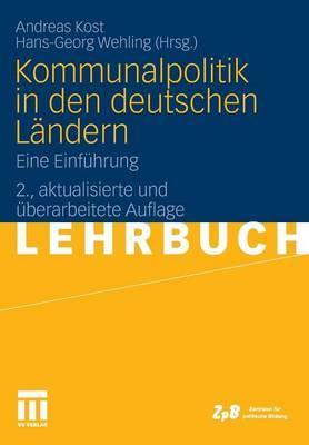 Kommunalpolitik in Den Deutschen Landern: Eine Einfuhrung