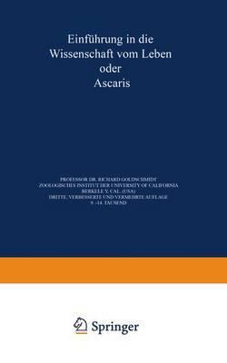 Einfuhrung in Die Wissenschaft Vom Leben Oder Ascaris