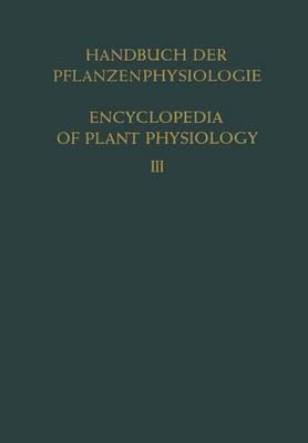 Pflanze Und Wasser / Water Relations of Plants