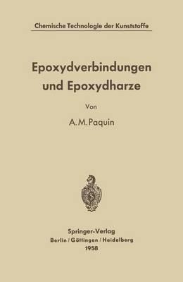 Epoxydverbindungen Und Epoxydharze