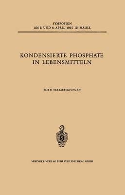 Kondensierte Phosphate in Lebensmitteln