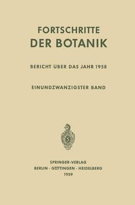 Bericht A1/4ber Das Jahr 1958.