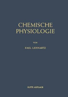 Einfa1/4hrung in Die Chemische Physiologie
