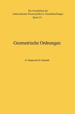 Geometrische Ordnungen.
