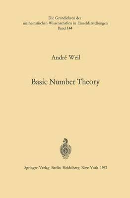 Basic Number Theory.