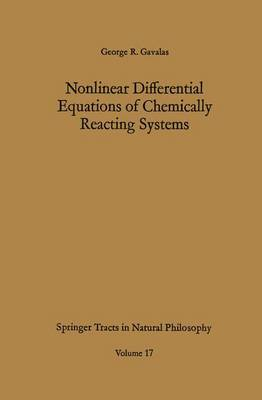 Nonlinear Differential Equations of Chemically Reacting Systems