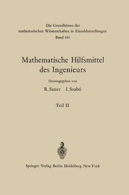 Mathematische Hilfsmittel Des Ingenieurs: Teil II