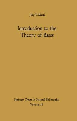 Introduction to the Theory of Bases