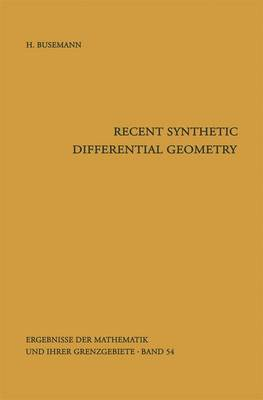 Recent Synthetic Differential Geometry