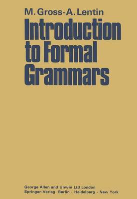Introduction to Formal Grammars