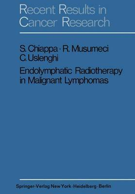 Endolymphatic Radiotherapy in Maglignant Lymphomas