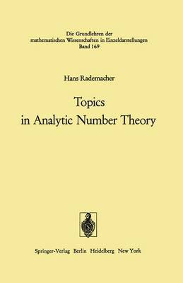 Topics in Analytic Number Theory.
