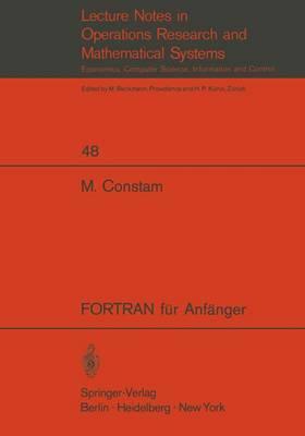 FORTRAN Fur Anf Nger