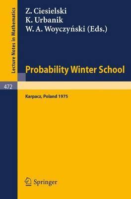 Probability Winter School