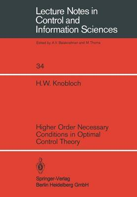 Higher Order Necessary Conditions in Optimal Control Theory