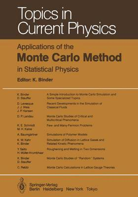 Applications of the Monte Carlo Method in Statistical Methods