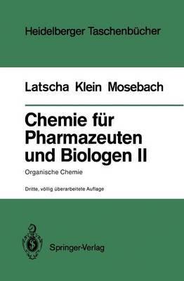 Chemie Fur Pharmazeuten Und Biologen II. Begleittext Zum Gegenstandskatalog GK1