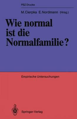 Wie Normal ist die Normalfamilie?