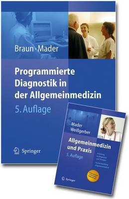 Paket Braun,Mader,Weissgerber: Programmierte Diagnostik in der Allgemeinmedizin -- Allgemeinmedizin und Praxis