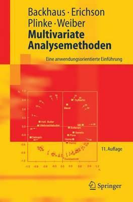 Multivariate Analysemethoden: Eine Anwendungsorientierte Einfuhrung