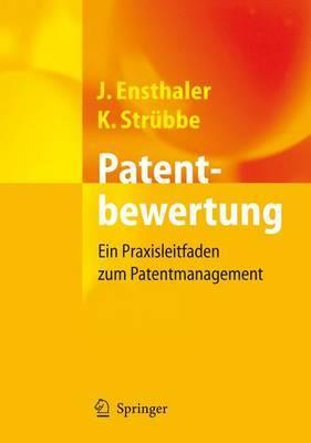 Patentbewertung: Ein Praxisleitfaden Zum Patentmanagement