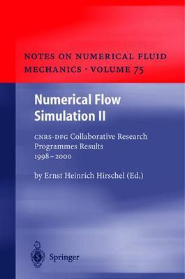 Numerical Flow Simulation: CNRS-DFG Collaborative Research Programme, Results 1998-2000: v. 2