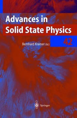 Advances in Solid State Physics: v. 42