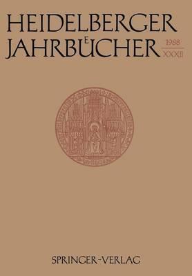 Heidelberger Jahrbucher: 32