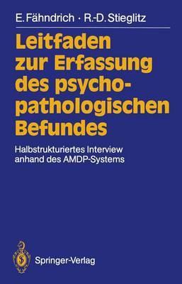 Leitfaden Zur Erfassung des Psychopathologischen Befundes