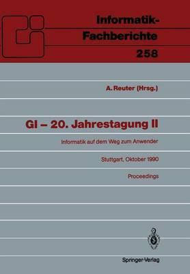 GI - 20. Jahrestagung: II