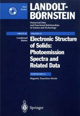 Electronic Structure of Solids: Photoemission Spectra and Related Data