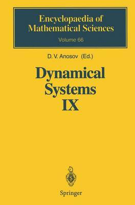 Dynamical Systems: Dynamical Systems with Hyperbolic Behaviour: v. 9