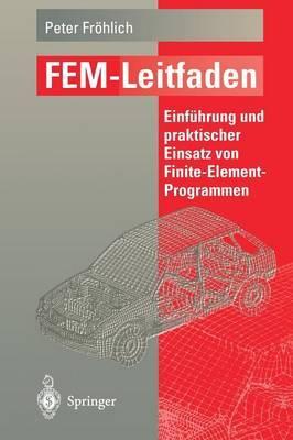 Fem-Leitfaden: Einfuhrung Und Praktischer Einsatz Von Finite-Element-Programmen