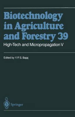 High-Tech and Micropropagation: v.5