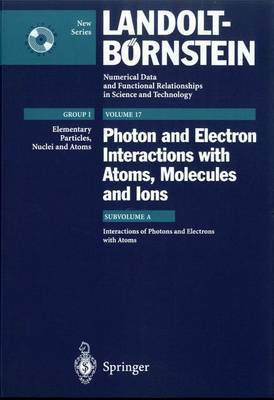Interactions of Photons and Electrons with Atoms
