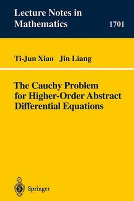 The Cauchy Problem for Higher-Order Abstract Differential Equations