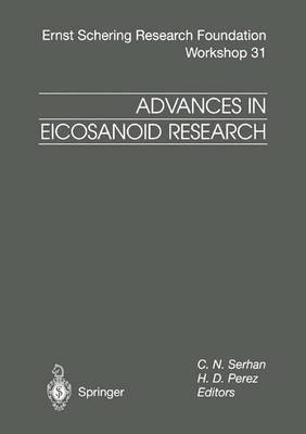 Advances in Eicosanoid Research
