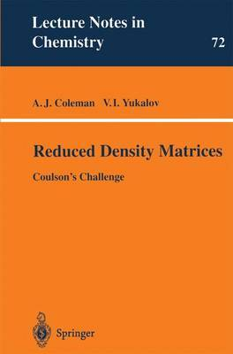 Reduced Density Matrices: Coulson's Challenge