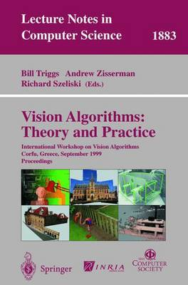 Vision Algorithms Theory and Practice: International Workshop on Vision Algorithms Corfu, Greece, September 21-22, 1999 Proceedings