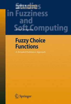 Fuzzy Choice Functions: A Revealed Preference Approach