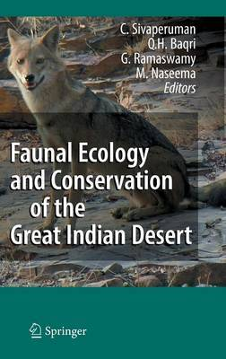 Faunal Ecology and Conservation of the Great Indian Desert