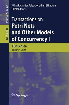 Transactions on Petri Nets and Other Models of Concurrency I