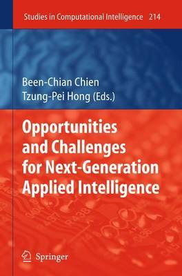 Opportunities and Challenges for Next-Generation Applied Intelligence