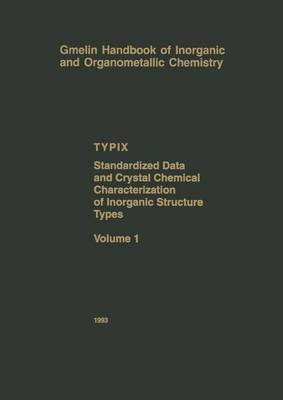 Typix - Standardized Data and Crystal Chemical Characterization of Inorganic Structure Types