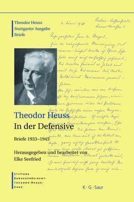 Theodor Heuss, in Der Defensive