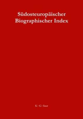 Sudosteuropaischer Biographischer Index