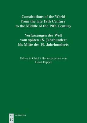 Constitutional Documents of Haiti 1790-1860