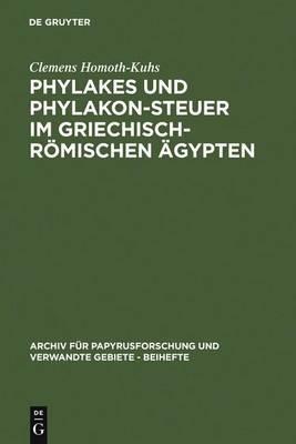 Phylakes Und Phylakon-Steuer Im Griechisch-R mischen  gypten